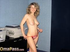 OmaPasS Granny Pictures nigh Porn Slideshow Videotape